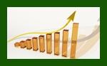 Compound interest graph (courtesy of Pixabay.com)